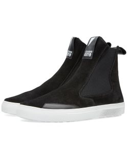 Stone Island Shadow Project | Slip On Leather Boot
