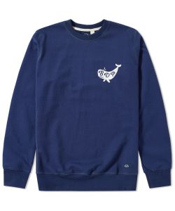 Bleu De Paname | Whale Logo Sweat