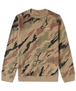 Maharishi | Camo Dragon Crew Sweat