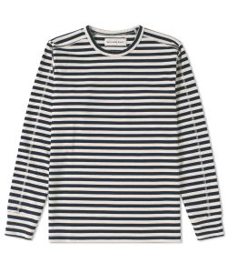 Universal Works | Home Stripe Crew Sweat