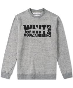 White Mountaineering | Shark Logo Crew Sweat