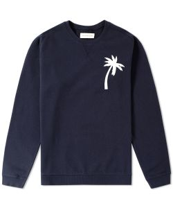 Universal Works | Embroidered Palm Crew Sweat