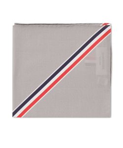 Thom Browne | Diagonal Stripe Pocket Square