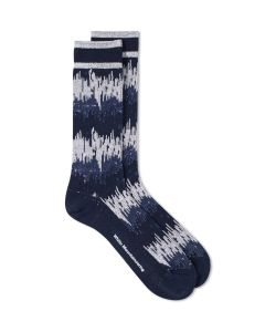 White Mountaineering | Wave Camo Sock