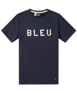 Bleu De Paname | Bleu Stencil Tee