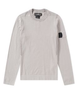 Stone Island Shadow Project | Crepe Cotton Crewneck Knit