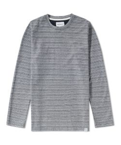 Norse Projects | Long Sleeve Niels Textu Stripe Tee