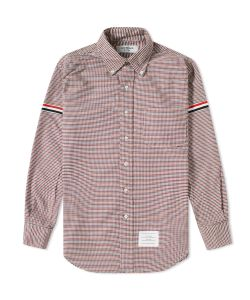 Thom Browne | Grosgrain Arm Band University Check Shirt