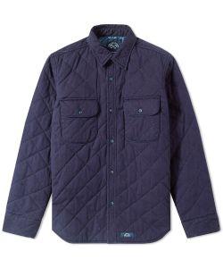Bleu De Paname | Quilted Tank Shirt Jacket
