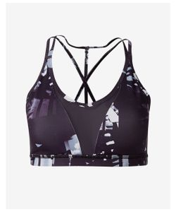 Express | Printed Exp Core V-Neck Sports Bra