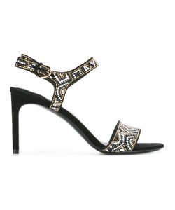 Salvatore Ferragamo | Ella Mosaic Beaded Sandals 9
