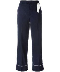 The Gigi | Contrast Trim Trousers