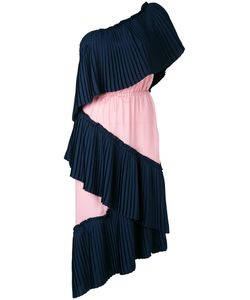 Marco de Vincenzo | Single Shoulder Pleated Dress