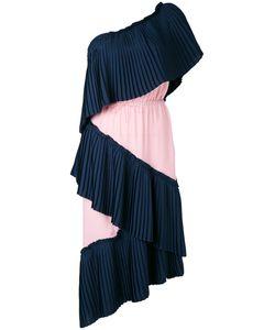 Marco de Vincenzo | Single Shoulder Pleated Dress