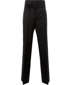 Yang Li | Belted Tailored Trousers Size 48