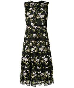 Giambattista Valli | Sleeveless Embroidered Dress Size 46