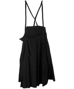 Y's   Braces Pleated Skirt 2