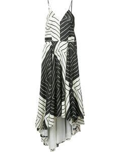 Christian Siriano | Geometric Print Cami Dress