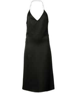 Barbara Casasola | Flared Backless Dress Size 40