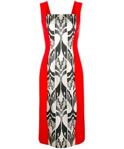 Oscar de la Renta | Fitted Midi Dress Women