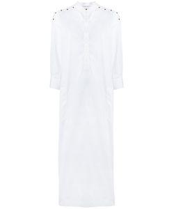 Agnona   Long Collarless Dress 46