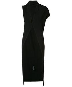 Isabel Benenato | Long Asymmetric Sleeve Cardigan