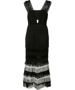 Jonathan Simkhai | Fringed Dress Size 4