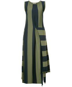 Hache   Asymmetric Striped Dress 42