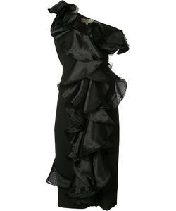Christian Siriano | Fitted Ruffle Dress