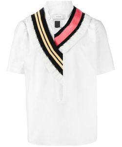 Facetasm | Knitted Collar Shirt 5 Cotton