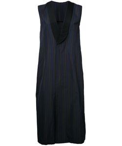 08Sircus | Striped Sleeveless Coat
