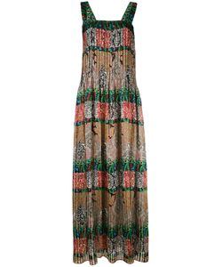 Oscar de la Renta | Multi-Print Maxi Dress Women