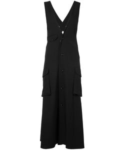 Y's   Buttoned Midi Dress Size