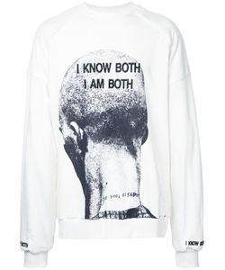Juun.J   Printed Front Sweatshirt Small