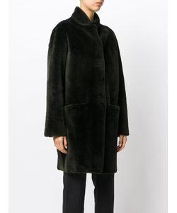 Inès & Maréchal   Fur Detail Coat Women Lamb