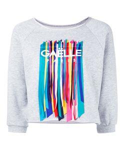 Gaelle Bonheur | Straps Appliqué Sweatshirt