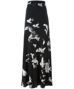 A.F.Vandevorst   Print Skirt 40 Silk/Lyocell