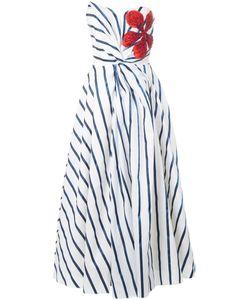 Ingie Paris   Striped Strapless Dress
