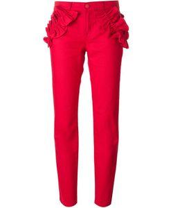 Simone Rocha X J Brand | Ruffle Detail Trousers