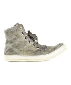 A Diciannoveventitre | Distressed Hi-Top Sneakers