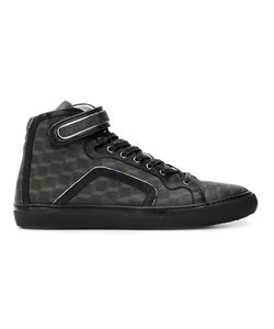 Pierre Hardy | 101 Trimcube Hi-Top Sneakers 40 Leather/Nappa