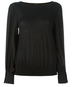 Agnona | Button Cuff Jumper