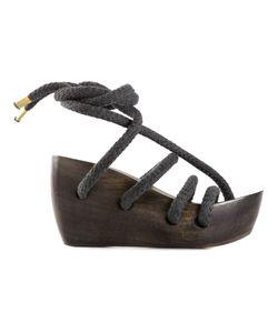 Reinhard Plank | Strappy Wedge Sandals