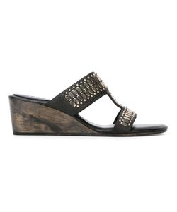 Calleen Cordero | Embellished Wedge Sandals