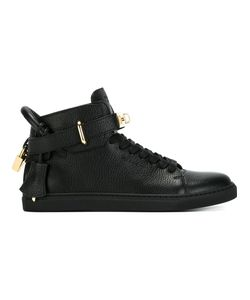 Buscemi   Clasp Detail Lace-Up Sneakers