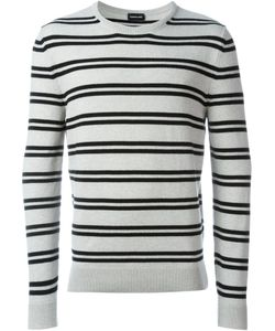Exemplaire | Double Striped Crew Neck Jumper