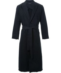 Dressedundressed | Peaked Lapels Long Coat