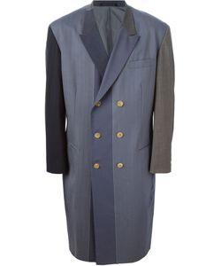Yohji Yamamoto Vintage | Contrast Panelled Coat