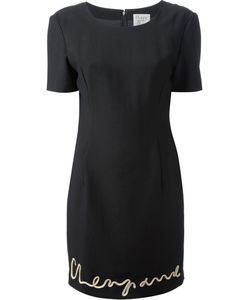 Moschino Vintage | Applique Shift Dress