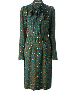 Jean Louis Scherrer Vintage | 70s Printed Dress